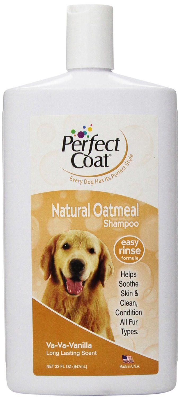 natural dog vanilla oatmeal shampoo