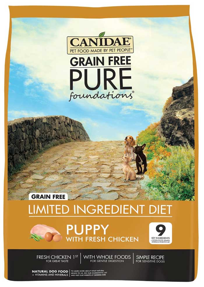Canidae husky puppy food