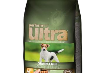 bag of performatrin dog food