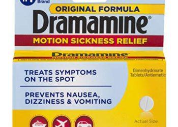 packet of dramamine