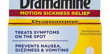 packet of dramamine