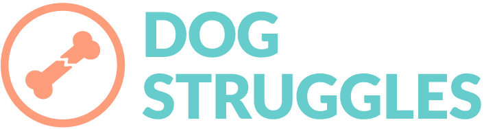 dog struggles logo