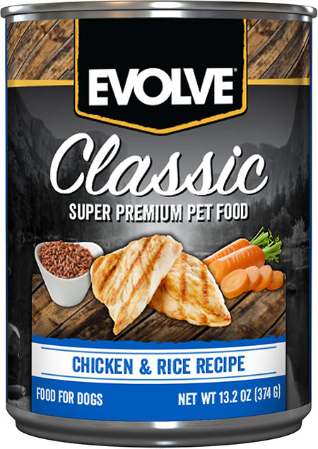 Evolve Classic Chicken & Rice Recipe Canned