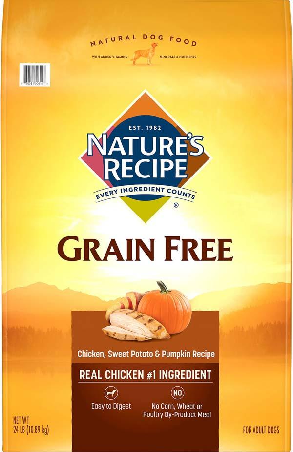 Grain Free Chicken, Sweet Potato & Pumpkin