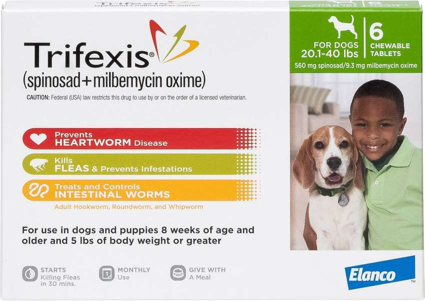 Trifexis-20-40-pounds