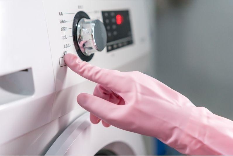 Starting washing machine